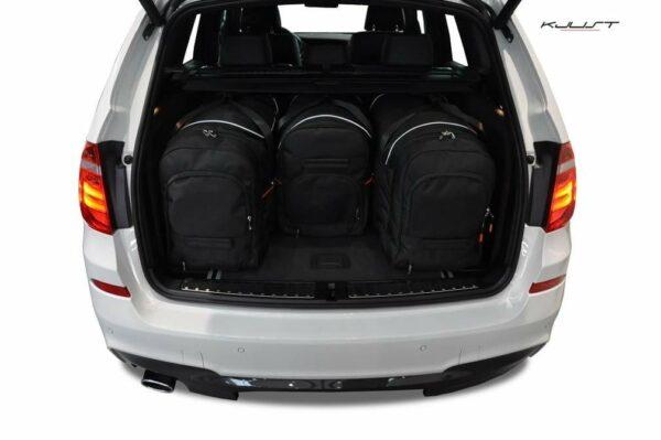BMW X3 2010-2017 SADA TAŠEK AERO (4KS)