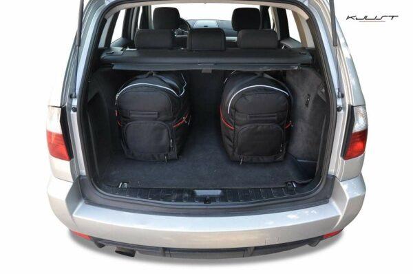 SADA TAŠEK AERO 5KS PRO BMW X3 2003-2010
